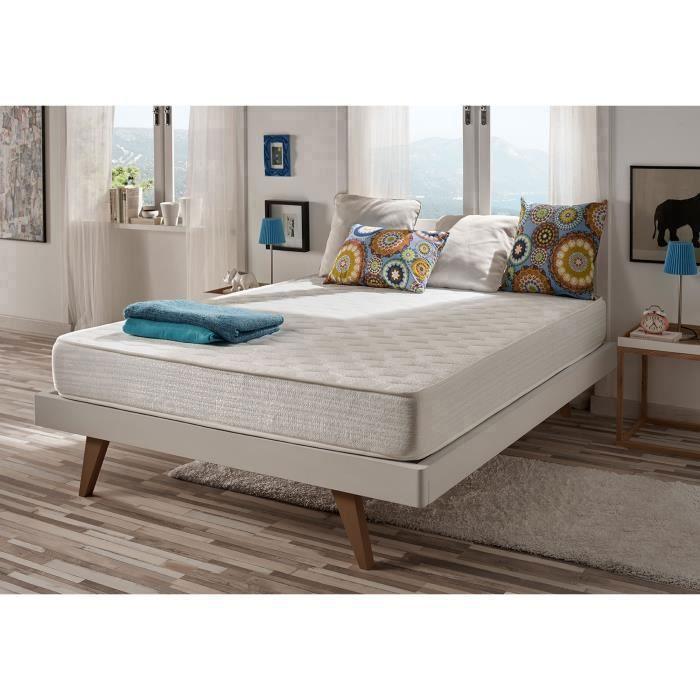 matelas pais optisoft 140x190 cm en blue latex mousse m moire naturalex achat vente. Black Bedroom Furniture Sets. Home Design Ideas