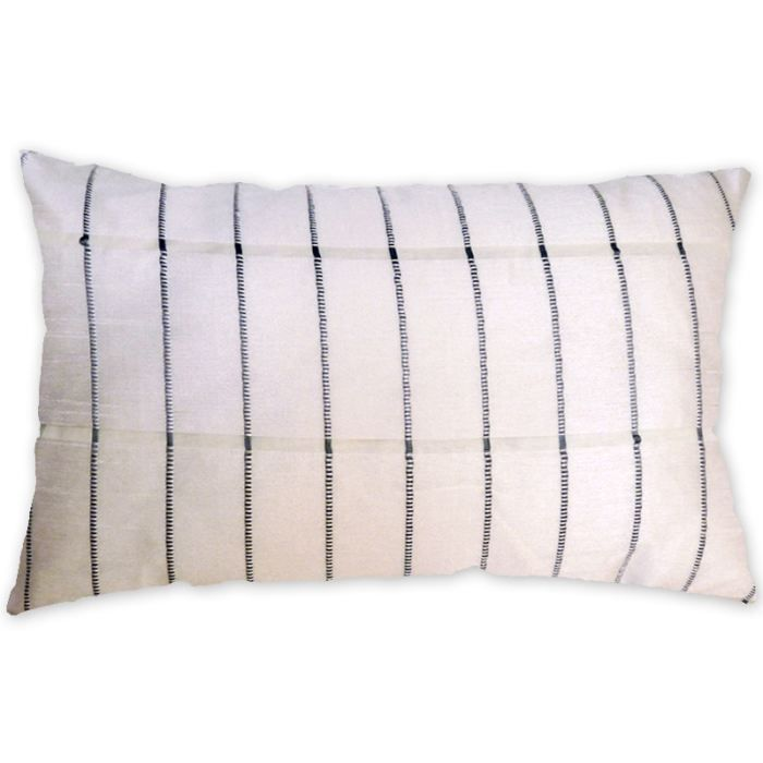 Coussin d houssable osaka blanc 32x50 cm achat vente coussin cdiscount - Coussin anti transpirant ...