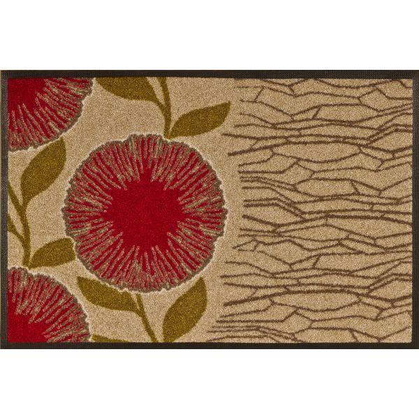 Tapis Design Bloom Beige 50 X 75 Achat Vente Paillasson Cadeaux De No L Cdiscount