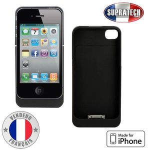 Coque batterie iphone 4s achat vente coque batterie for Babou telephone
