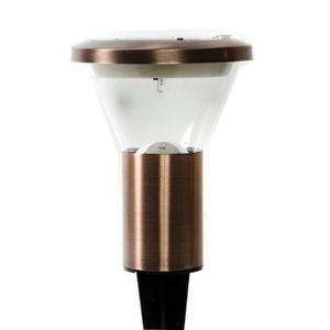 LAMPION GALIX Lanterne solaire en cuivre laqué