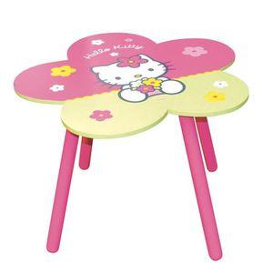 TABLE JOUET D'ACTIVITÉ HELLO KITTY Table Bois Fleur - Cijep