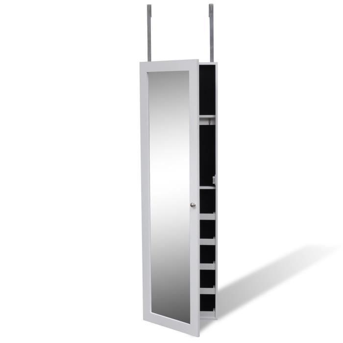 armoire a bijoux de porte avec miroir cette armoire a bijoux avec miroir d 39 un design simple. Black Bedroom Furniture Sets. Home Design Ideas