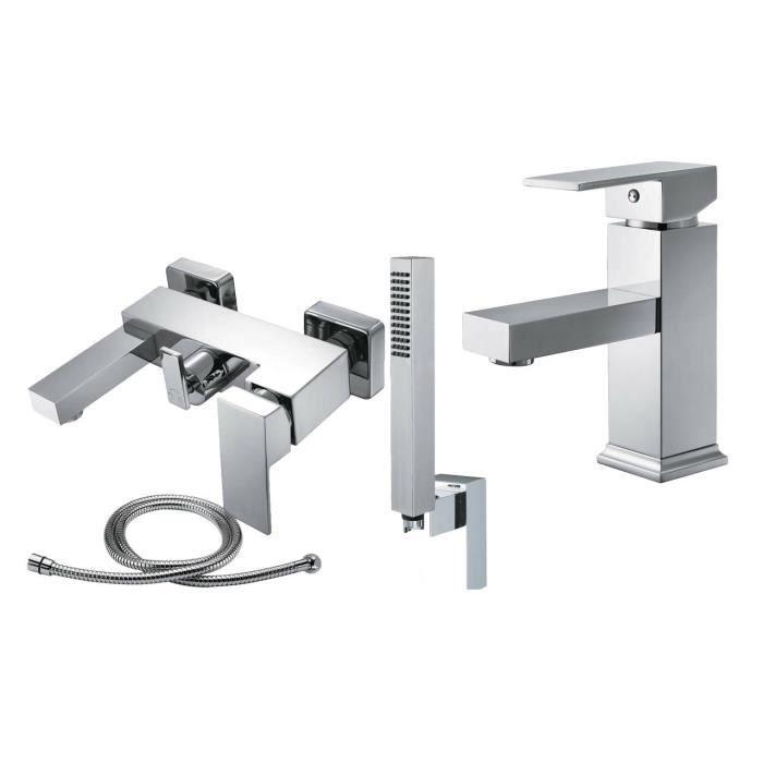 robinet mitigeur bain douche lavabo weser 41 achat vente robinetterie de salle de bain. Black Bedroom Furniture Sets. Home Design Ideas