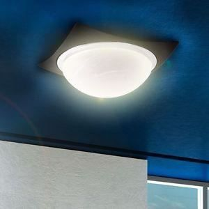 Luminaire lustre lampe lampadaire d tails du plafonnier for Eclairage salon sans plafonnier