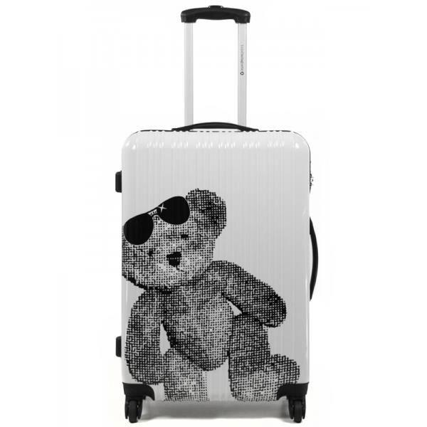 valise cabine 46cm lulu castagnette achat vente valise bagage 2009953119164 cdiscount. Black Bedroom Furniture Sets. Home Design Ideas