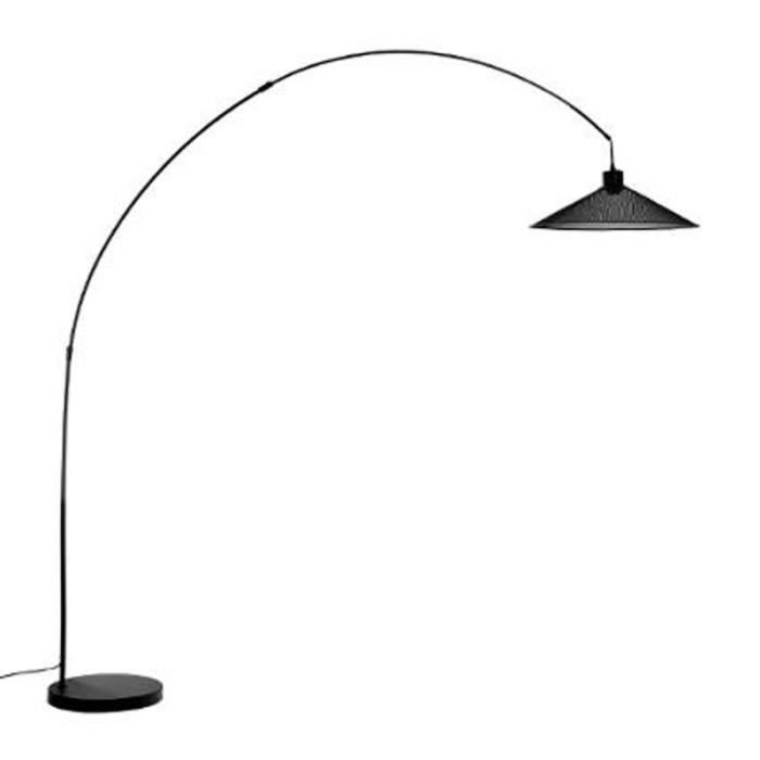 paris prix lampadaire m tal grilfrid 190cm noir. Black Bedroom Furniture Sets. Home Design Ideas