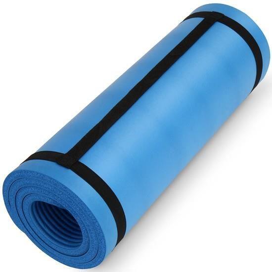tapis de sol tapis de gym 180 x 60 x 1 5 cm bleu prix pas cher soldes cdiscount. Black Bedroom Furniture Sets. Home Design Ideas
