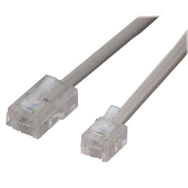 Cable telephonique rj11 rj45 fcm45 5m prix pas cher - Cable telephonique rj45 ...