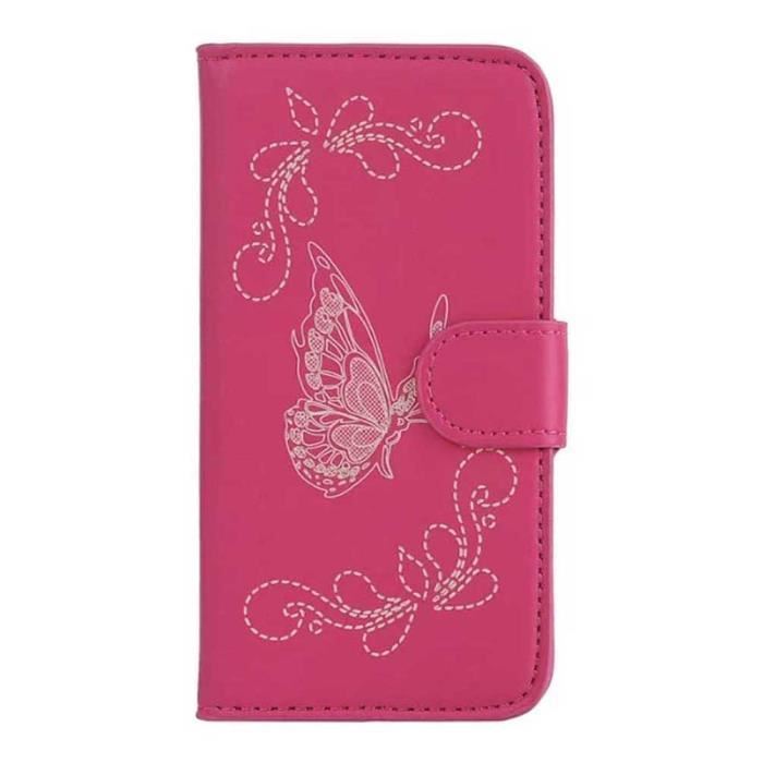 Xwzyq luxe pu cuir housse etui pour wiko sunny case coque for Housse wiko sunny 2