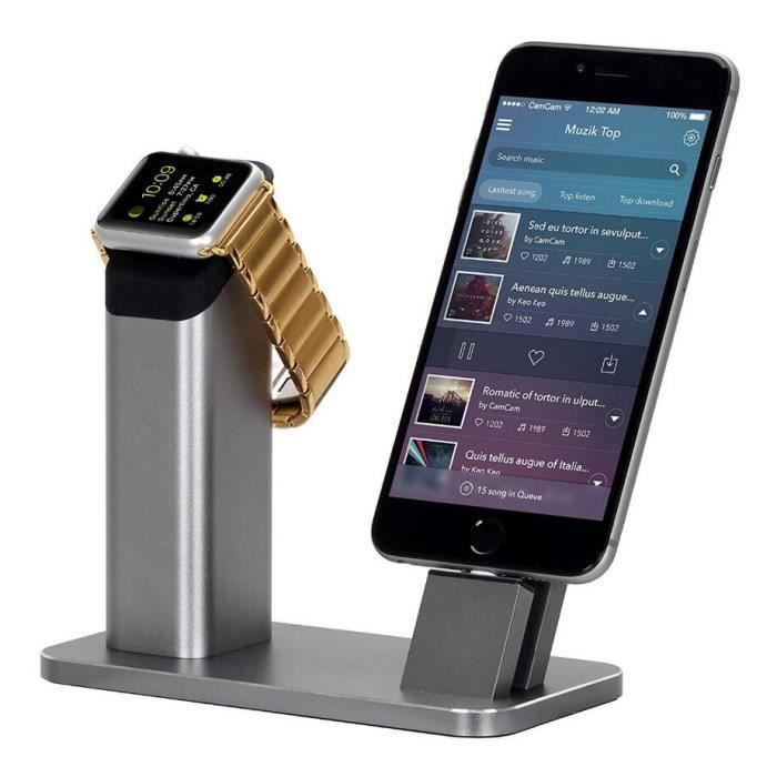 Station Accueil Iphone Et Apple Watch