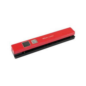 Iris Scanner IRIScan Anywhere 5 - Portable - Couleur - 1200 ppp - A4 - Rouge