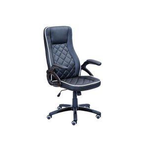 chaise bicolore noir et blanc achat vente chaise bicolore noir et blanc pas cher cdiscount. Black Bedroom Furniture Sets. Home Design Ideas