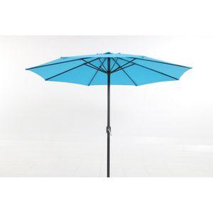 PARASOL Parasol couleur bleu clair de 3 m de diamètre en A