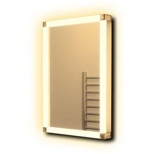 Miroir salle de bain avec prise achat vente miroir for Attache miroir
