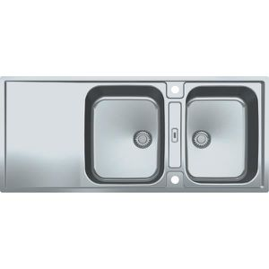 Evier inox 2 bacs franke achat vente evier inox 2 bacs for Evier franke inox microdekor