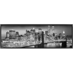 Tableau led new york c1 achat vente tableau toile - Tableau new york led ...
