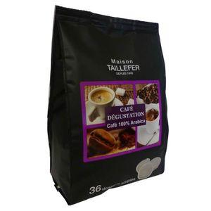 CAFÉ - CHICORÉE MAISON TAILLEFER Dosette Café Dégustation (36 Dose