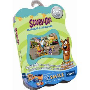 JEU CONSOLE EDUCATIVE Jeu VSmile Vtech - Scooby Doo
