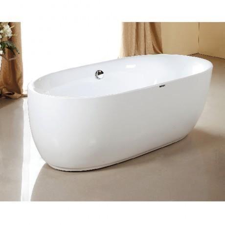 Baignoire lot ovale designi blanc achat vente baignoire baln o - Achat baignoire ilot ...