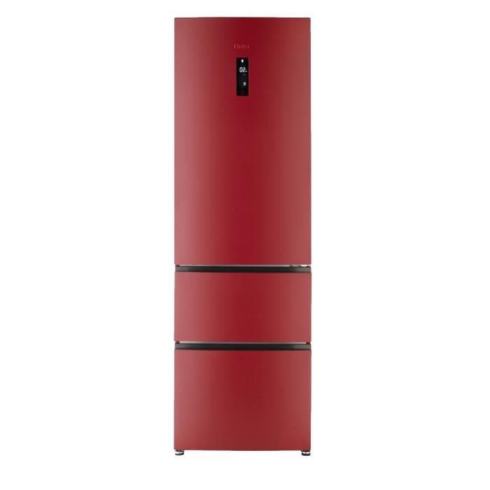 electromenager refrigerateur congelateur haier fecr f  hai