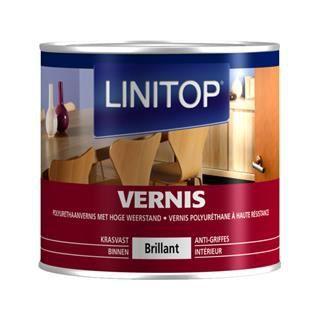 Linitop vernis mat incolore 0 75 l achat vente for Peinture sur vernis