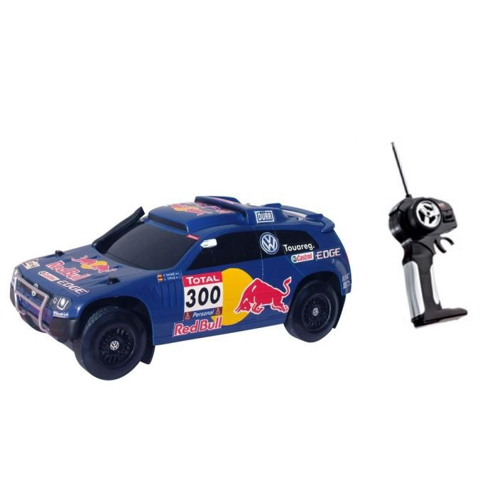 voiture radiocommand race touareg red bull 1 14 achat vente voiture camion race touareg. Black Bedroom Furniture Sets. Home Design Ideas