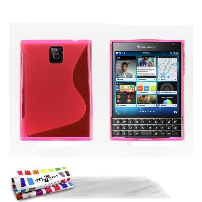coque 3 films blackberry passport le s rose achat coque bumper pas cher avis et. Black Bedroom Furniture Sets. Home Design Ideas