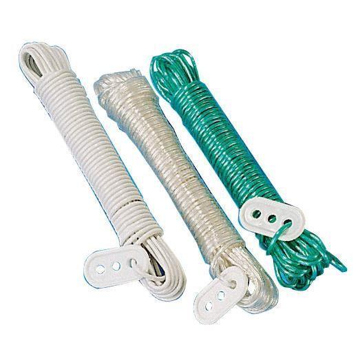 Cordes a linge lot de 3 achat vente fil linge for Tendeur fil a linge exterieur