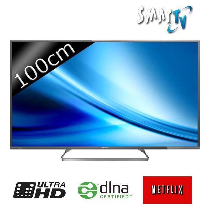 Panasonic tx 40cx680 smart tv led 4k uhd 100cm 40 t l viseur led prix pas - Television prix discount ...