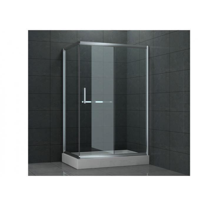 Paroi de douche mira 80x120x196cm angle droit achat vente douche rece - Paroi douche discount ...
