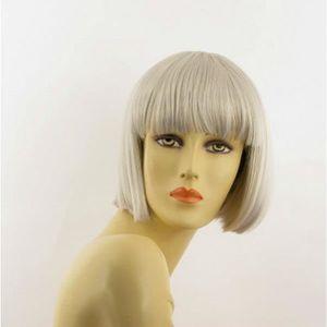 PERRUQUE - POSTICHE Perruque femme blanche carré ELISA 60