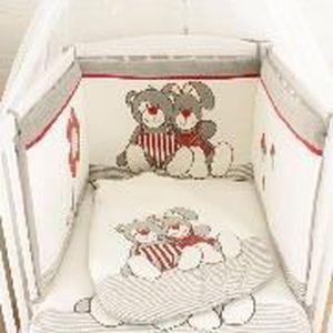 Les kinousses parure de lit nez rouge tour de achat for Parure de lit rouge