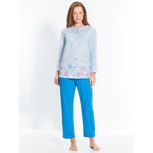 CHEMISE DE NUIT Pyjama en maille pur coton