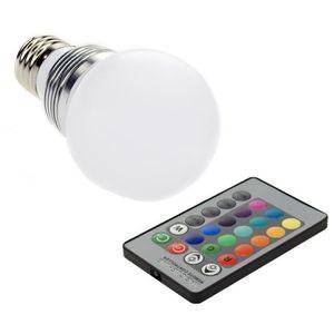 ampoule couleur e27 achat vente ampoule couleur e27 pas cher cdiscount. Black Bedroom Furniture Sets. Home Design Ideas