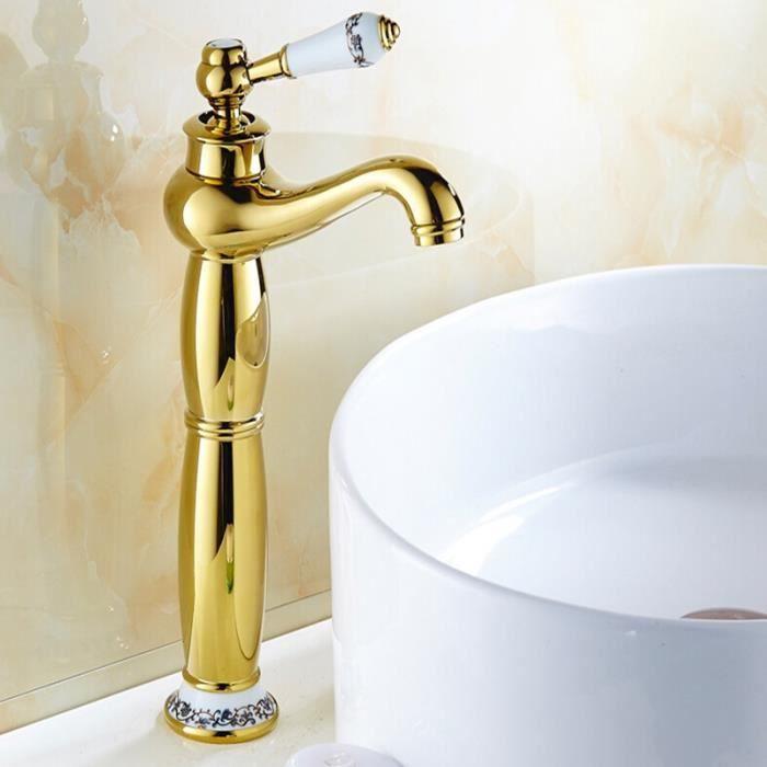 robinet mitigeur salle de bain cuisine vasque haut de bec en laiton r tro cuivre vintage. Black Bedroom Furniture Sets. Home Design Ideas