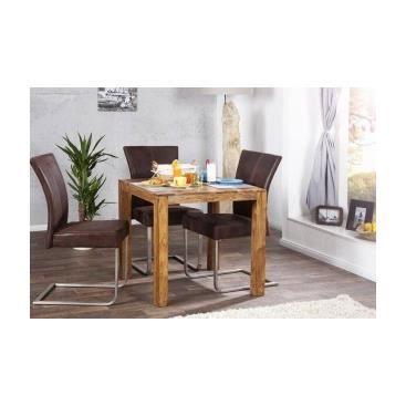 Table de cuisine lena achat vente table manger table de cuisine lena - Table cuisine cdiscount ...