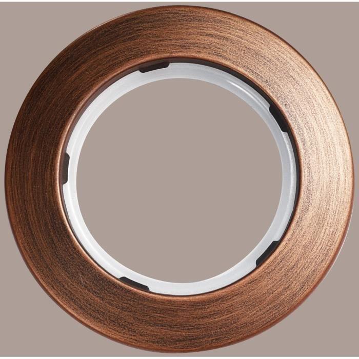 lot de 10 oeillets rideaux 50 mm chocolat achat vente attache pour rideau plastique. Black Bedroom Furniture Sets. Home Design Ideas