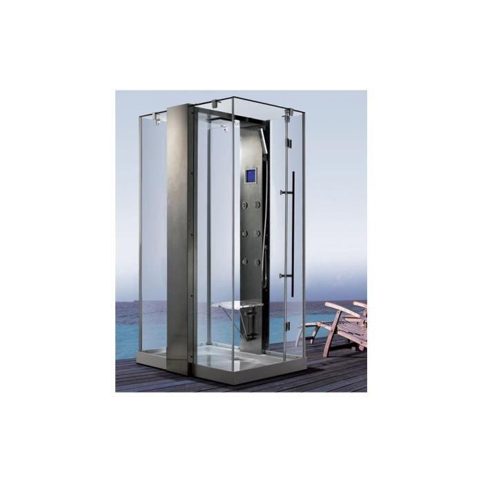 Cabine de douche pedralva 120 90 220 cm achat vente cabine de douche cabi - Cdiscount cabine de douche ...