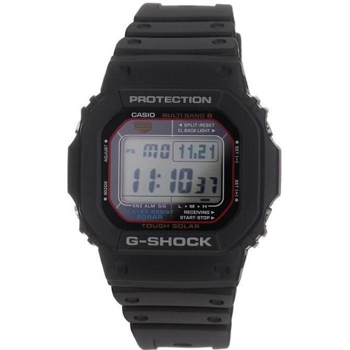 casio montre quartz g shock gw m5610 1er homme noir achat vente montre soldes cdiscount. Black Bedroom Furniture Sets. Home Design Ideas
