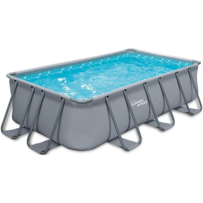 Piscine tubulaire elite x x m achat vente piscine piscin - Piscine tubulaire discount ...