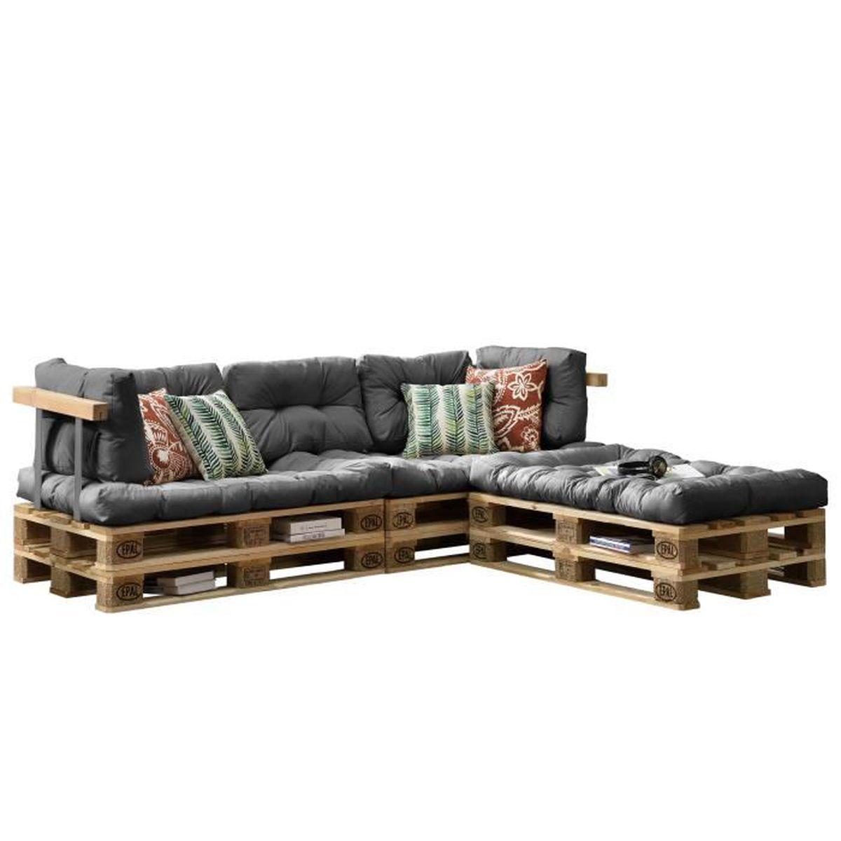coussin pour palette achat vente coussin pour palette pas cher cdiscount. Black Bedroom Furniture Sets. Home Design Ideas