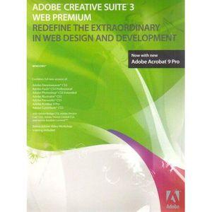 CRÉATION NUMÉRIQUE Adobe Creative Suite 3.3 Web Premium - Coffret de