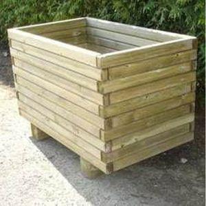 Fabriquer jardiniere bois autoclave