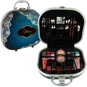 PALETTE DE MAQUILLAGE  Mallette de Maquillage - Diva Style -  48 Pcs