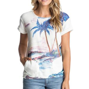 T-SHIRT Tee-shirt manches courtes Roxy Gone Going Printed