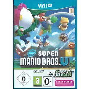 JEUX WII U Jeu Wii U Super Mario Bros U + New Super Luigi U