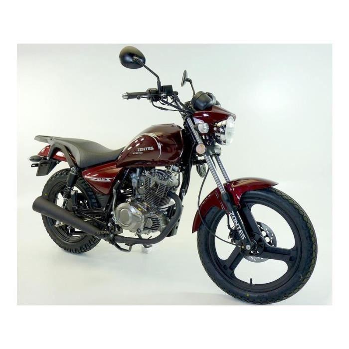 moto roadster 125 zontes noir homologu 2 places achat vente moto moto roadster 125 zontes. Black Bedroom Furniture Sets. Home Design Ideas