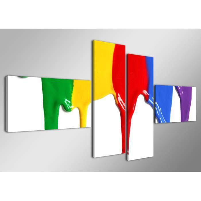 Tableau moderne imprim 160 x 70 cm peinture achat vente tableau toile toile bois - Tableau de cuisine moderne ...