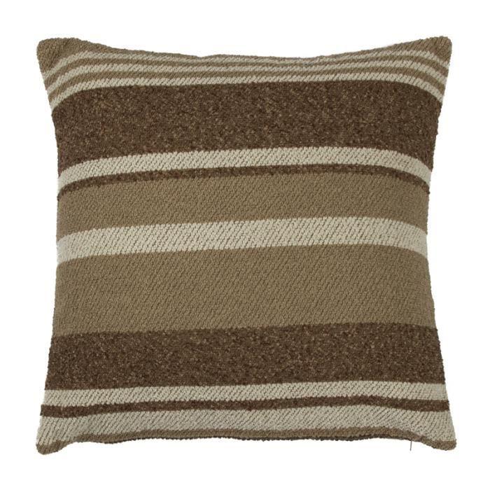 kansas coussin 43x43 rayures 85717 monbeaucoussin magnifique coussin achat vente. Black Bedroom Furniture Sets. Home Design Ideas